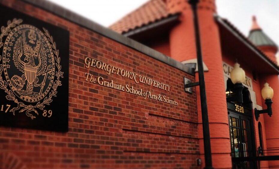 Georgetown Graduate School of Arts and Sciences